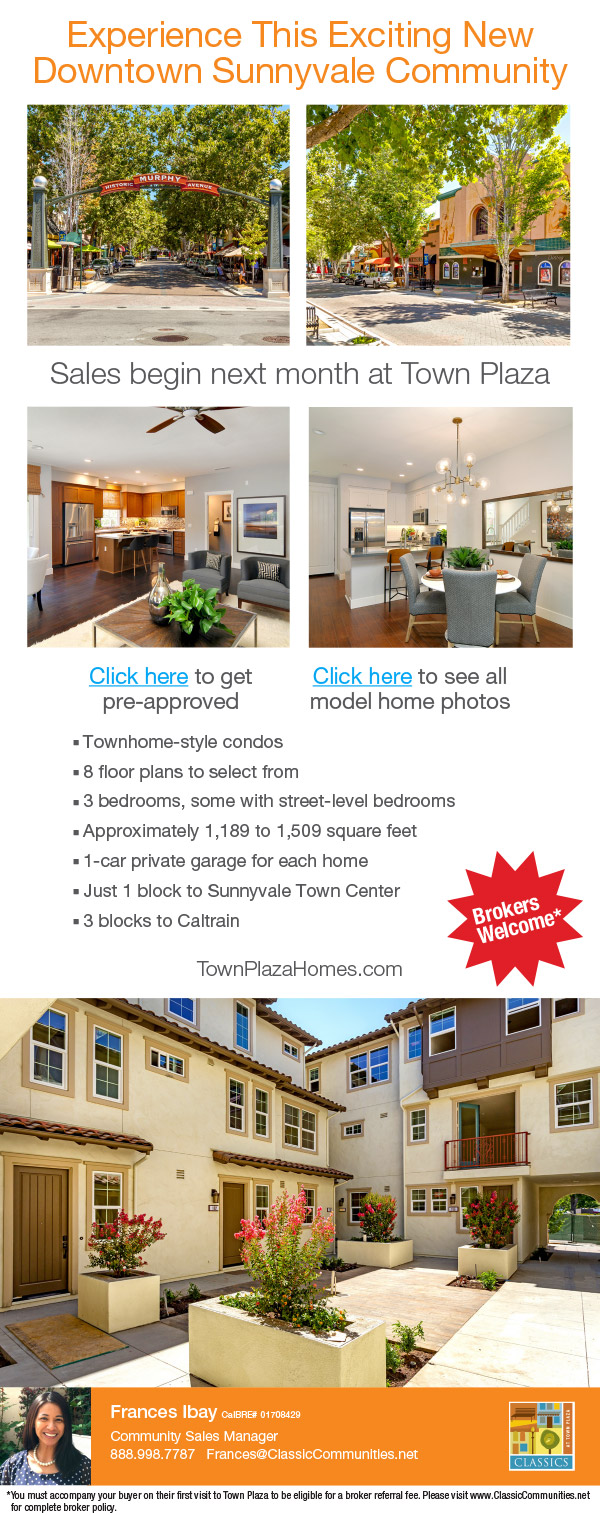 New homes in Mountain View, Sunnyvale, San Jose and Palo Alto ...