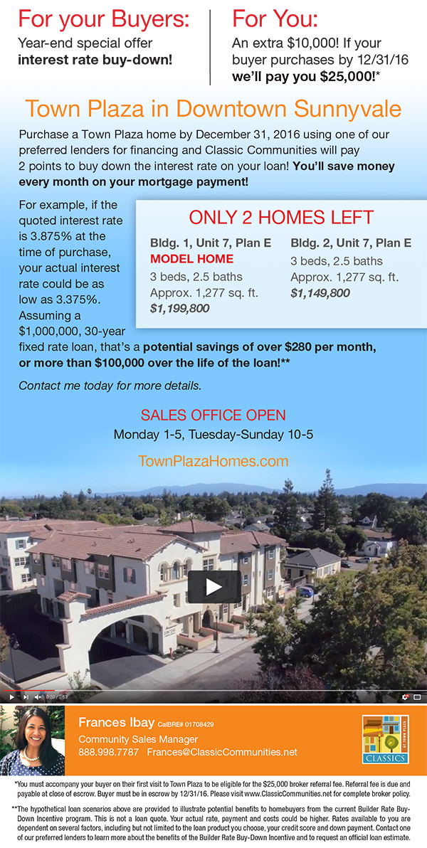 New Homes In Mountain View Sunnyvale San Jose And Palo